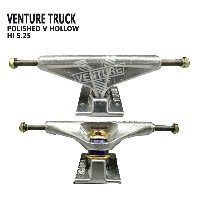 VENTURE/ベンチャー POLISHED V-HOLLOW HI5.25 TRUCK トラック/TRUCK スケボーSK8 SKATEBOARD