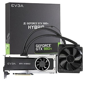 EVGA GeForce GTX 980 Ti 6GB HYBRID GAMING, 'All in One' No Hassle Water Cooling, Just Plug and Play...