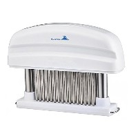 Lasting Charm Meat Tenderizer - Professional Commercial Quality Kitchen Tool with 48 Stainless...