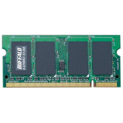 BUFFALO A2/N667-512M 512MB SDRAM(PC2-5300)