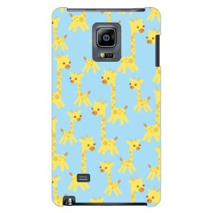 【送料無料】 きりんちゃん ブルー produced by COLOR STAGE / for GALAXY Note Edge SCL24/au 【Coverfull】scl24 カバー...