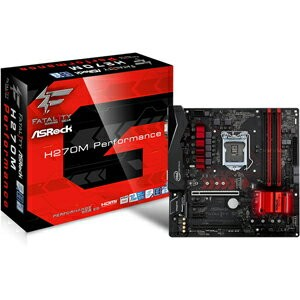 FATAL1TY H270M PERFO ASRock Micro ATX対応マザーボード [FATAL1TYH270MPERFO]【返品種別B】【送料無料】