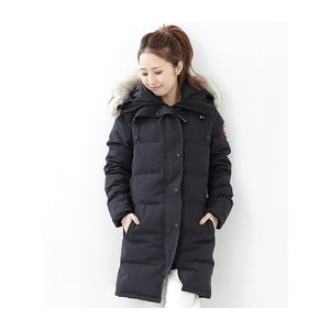 "CANADA GOOSE / ""Mackenzie""【ビームス ウィメン/BEAMS WOMEN レディス ダウン NAVY ルミネ LUMINE】"