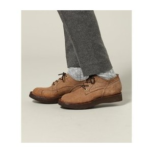 GRIZZLY BOOTS / グリズリーブーツ:LINE MAN OXFORD ROUGH OUT【ジャーナルスタンダード/JOURNAL STANDARD メンズ ロングブーツ ブラウン ルミネ...