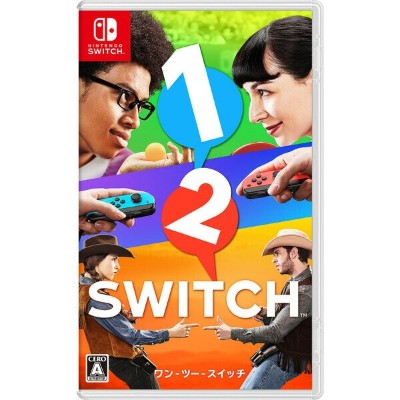 【Nintendo Switch】1-2-Switch 任天堂 [HAC-P-AACCA NSWワンツースイッチ]