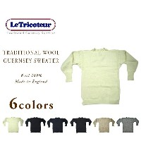 LE TRICOTEUR(ル・トリコチュール)/WOOL GUERNSEY SWEATER(ウールガンジーセーター)/KNITTED IN GUERNSEY ISLAND U.K.