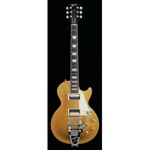 Gibson Les Paul Classic Bigsby Zebra 2017 Proprietary (Gold Top) [Gibson USA 2017 Models] 【ポイント5倍】
