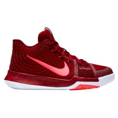 "Nike Kyrie 3 ""Warning"" キッズ/レディース Team Red/Total Crimson/White/Pink ナイキ カイリー3 Kyrie Irving カイリー..."