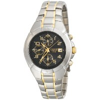 Pulsar パルサー メンズ 腕時計 Men's PF8188 Chronograph Two-Tone Stainless Steel Watch