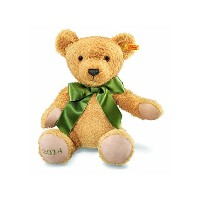 Steiff シュタイフ ぬいぐるみ テディベア Cuddly Soft 2014 Baby Safe Cosy Year Teddy Bear 38cm - BOXED