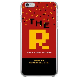 【送料無料】 Cf LTD ゲーム イニシャル R (クリア) / for iPhone 6 Plus/Apple 【Coverfull】アップル iphone6 plus iphone6 plus...