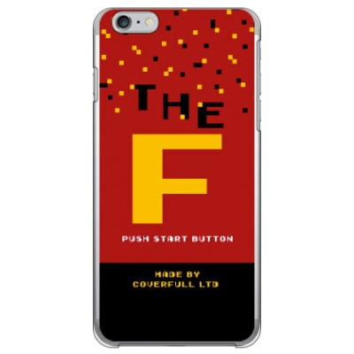 【送料無料】 Cf LTD ゲーム イニシャル F (クリア) / for iPhone 6 Plus/Apple 【Coverfull】アップル iphone6 plus iphone6 plus...