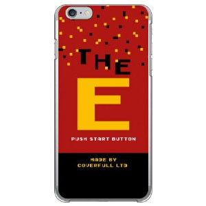 【送料無料】 Cf LTD ゲーム イニシャル E (クリア) / for iPhone 6 Plus/Apple 【Coverfull】アップル iphone6 plus iphone6 plus...
