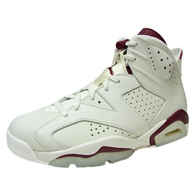 ナイキ エア ジョーダン6 レトロ マルーン NIKE AIR JORDAN6 RETRO MAROON AJ6 OFF WHITE/NEW MAROON