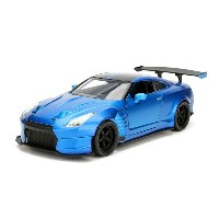 JADA TOYS ジャダトーイズ 1:24SCALE FAST AND FURIOUS ファストアンドフューリアス ワイルドスピード 2009 NISSAN GT-R (R35) WITH BEN...