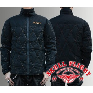 【SKULL FLIGHT/スカルフライト】ジャケット/RIDERS INNER DOWN JACKET★REAL DEAL