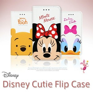 【 Disney / ディズニー 】 iPhone7 iPhone7Plus / iPhone6 iPhone6s / iPhone6Plus 6s Plus / iPhone5 5s SE / Disney Cutie Flip Case Part2【 手帳 手帳型 ケース カバー plus ミッキー ミニー ドナルド iphone6 アイフォン6 アイフォン7 】
