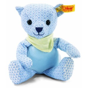 Steiff 238116 シュタイフ ぬいぐるみ テディベア 20cm Little Circus Teddy Bear for Newborn (Light Blue)