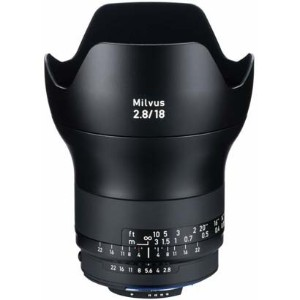 Carl Zeiss(カールツァイス)Milvus 2.8/18 ZF.2(CPU付きニコンAi-S)