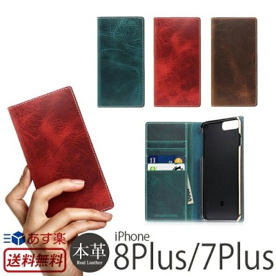 【送料無料】【あす楽】 iPhone8 Plus / iPhone7 Plus ケース 手帳型 本革 レザー SLG Design Badalassi Wax case for iPhone7Plus...