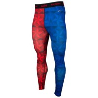 Eastbay EVAPOR Compression コンプレッション Printed Tights Tights タイツ 2.0 - Mens メンズ Royal/Scarlet