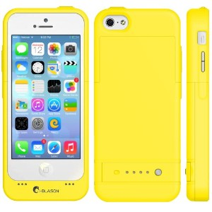 i-Blason Apple iPhone 5C PowerGlider Rechargeable External バッテリー Full プロテクション ケース [iOS 7 Compatible...