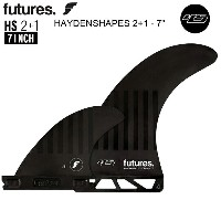 【FUTURES FIN】フューチャーフィンFUTURE FIN 送料無料 【HAYDEN SHAEPS 2+1 7 INCH】ヘイデンシェイプス/フューチャーフィン3本セットロングボード...