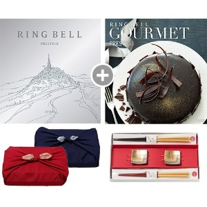 CONCENT・リンベル RING BELL カタログギフト ゾディアック&ヘリオス+箔一金箔箸セット