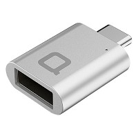 nonda USB-C to USB 3.0 Mini Adapter [World's Smallest] Aluminum Body with Indicator LED for MacBook...