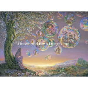 【DM便対応】Heaven And Earth Designs(HAED)クロスステッチ Supersized The Bubble Tree チャート Michele Sayetta...