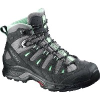 サロモン Salomon レディース ハイキング シューズ・靴【Quest Prime GTX Backpacking Boot】Detroit/Asphalt/Lucite Green