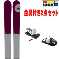 15-16 ROSSIGNOL ロシニョール スキー板 2016 STORM ストーム + LOOK NX11 [金具付2点セット] オールマウンテン [1516selectALL] [+NX11]