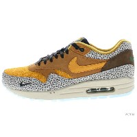"NIKE AIR MAX 1 PREMIUM QS ""SAFARI"" 665873-200 flax/kumquat-chestnut エア マックス サファリ 未使用品【中古】"