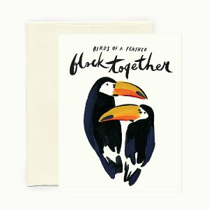 IDLEWILD CO. | BIRDS OF A FEATHER | グリーティングカード