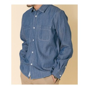 DOORS FORK&SPOON Chambray Work Shirts アーバンリサーチドアーズ【送料無料】