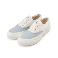 BICOLOR CANVAS SNEAKERS