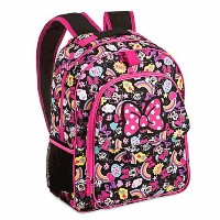 Disney(ディズニー) Minnie Mouse and Figaro Backpack with Hood ミニーマウス フード付きリュックサック  [並行輸入品]