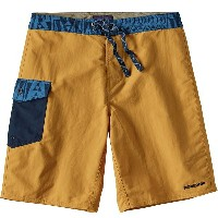 パタゴニア Patagonia メンズ サーフィン ウェア【Patch Pocket Wavefarer 20in Board Short】Yurt Yellow