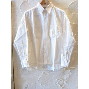 BUZZ RICKSON'S バズリクソンズ/WHITE CHAMBRAY WORK SHIRTS WHITE BR25996