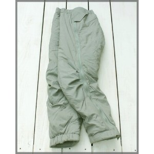 ECWCS GEN 3 Level 7 High Loft Pants / primaloft epiq Urban Gray / military tactical made in USA...