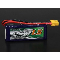 Turnigy nano-tech 7.4V 1500mAh 25C50C リポ