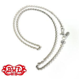 "【BWL】Bill Wall Leather ビルウォールレザー【送料無料】【あす楽】/Round Chain Necklace w/ Tiny Charm and Oval BWL Tag 21""..."