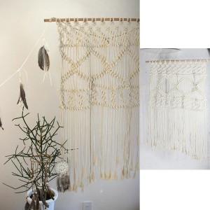 【全品ポイント5倍 4/14(土)20:00~】FESTA HOME Macrame Tapestry WIDE sp-sffl1713