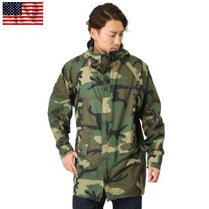 【20%OFF大特価】実物 米軍 IMPROVED レインパーカー WOODLAND USED《WIP》