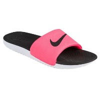 (取寄)Nike ナイキ レディース カワ スライド Nike Women's Kawa Slide Hyper Punch Black White