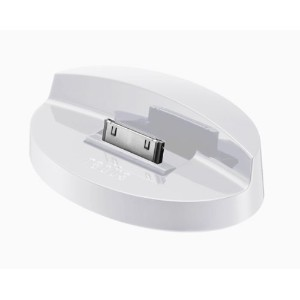 radius DOCK STAND for iPhone 4/iPhone 3GS/iPod touch/iPod/iPod nano White RK-DKF11W
