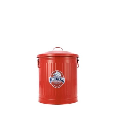 [ダルトン] Mini garbage can 100-105 RED 6L ゴミ箱