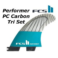 FCS2 FIN Performer PC Carbon Tri Set 3FIN パフォーマー THRUSTER エフシーエス2 スラスター サーフィン フィン 送料無料★