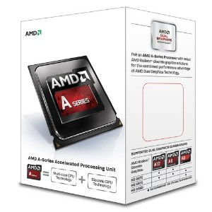 AMD A-Series A8 6500 ソケットFM2 TDP 65W 3.5GHz×4 GPU HD8570D AD6500OKHLBOX