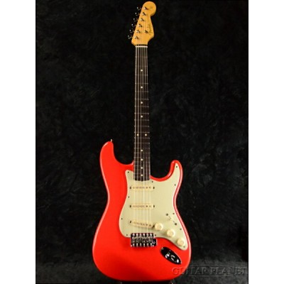 "Fender Japan Exclusive Classic 60s ""Fujifabric Yamauchi"" Signature Stratocaster Fiesta Red 新品..."
